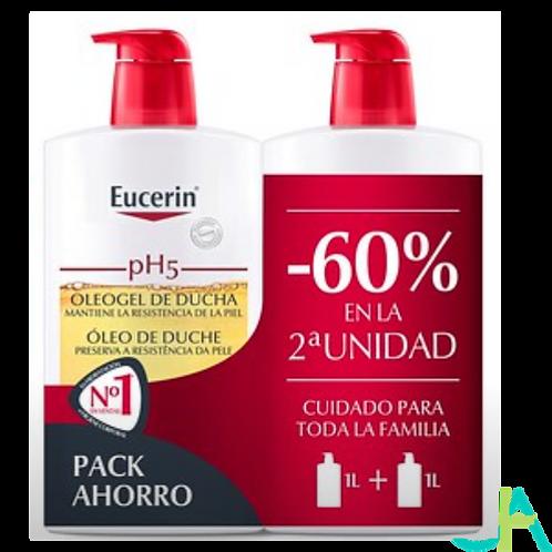 EUCERIN Oleogel 1000ml + 1000ml