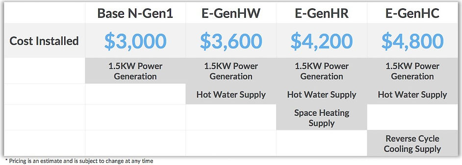 N-Gen Technology costs