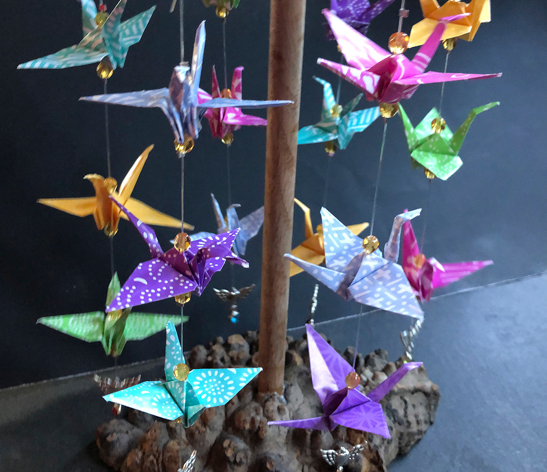 Cranes of Peace by Laurie Lehmann