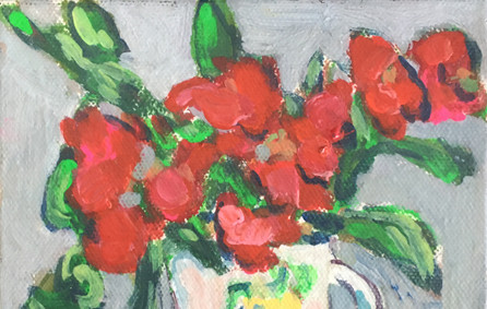 Red Roses by Susan Kendall