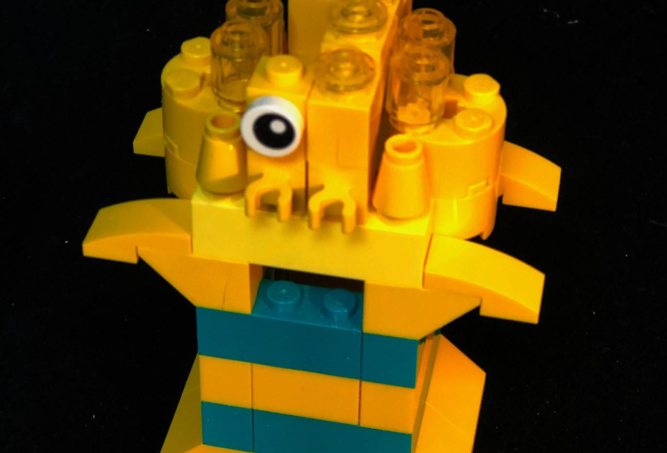 LEtitGO--Yellow Cubie by Thomas Moraitis
