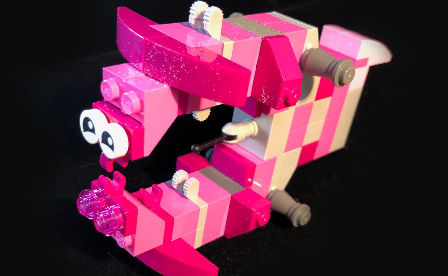 LEtitGO--Pink Dory Fish by Thomas Moraitis