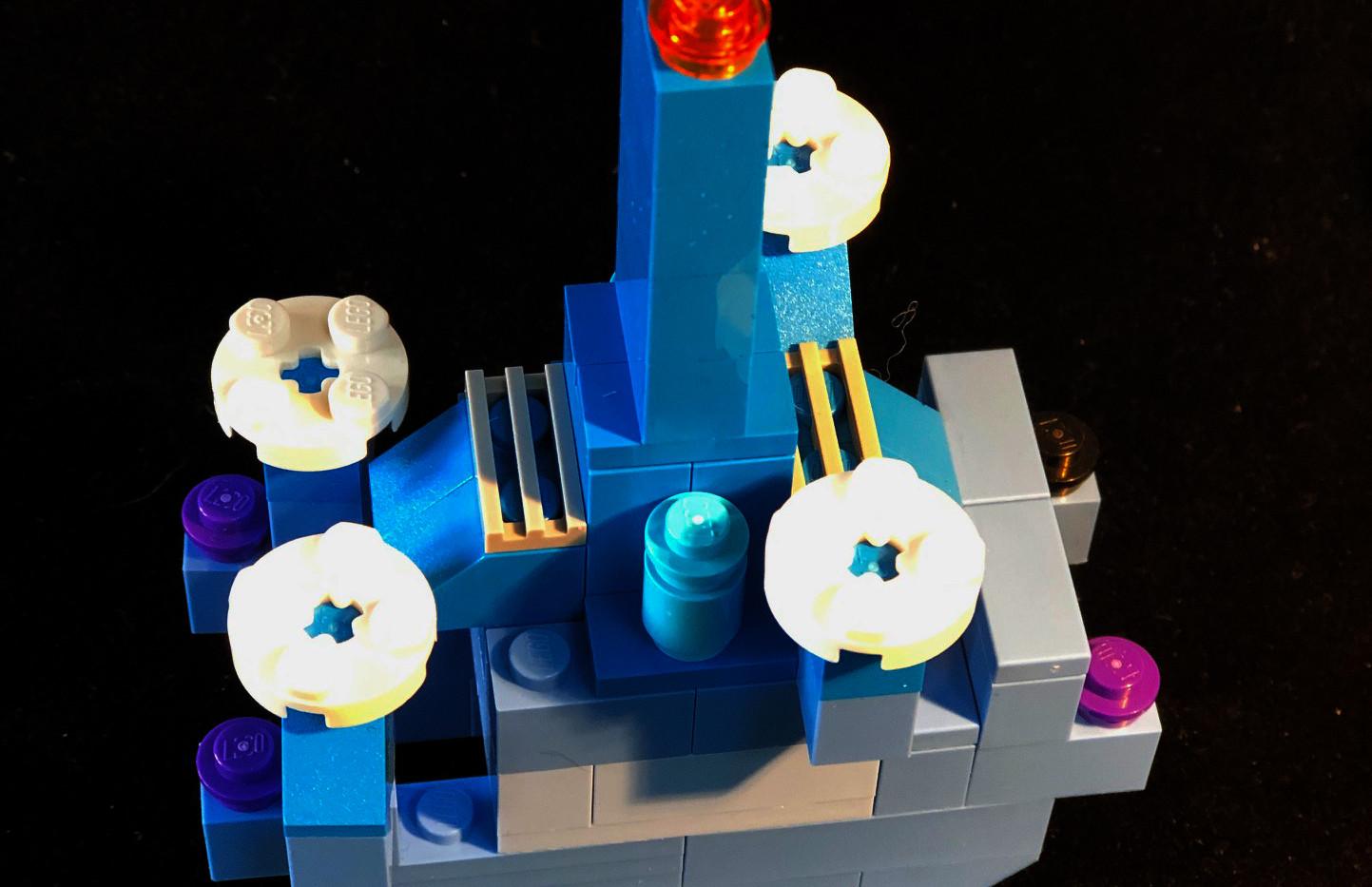 LEtitGO--Blue Flower Power by Thomas Moraitis