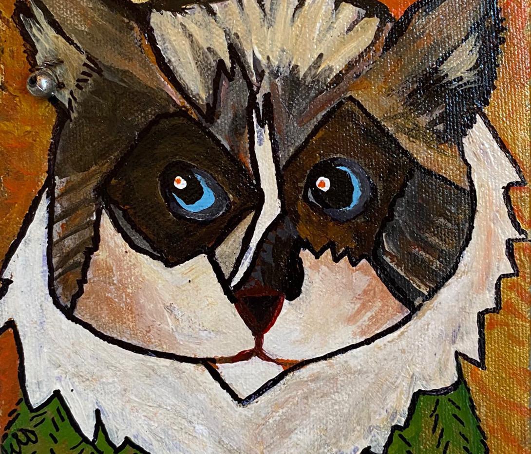 Azazel: Cubist Cutie Ragdoll by B.Z. Smith