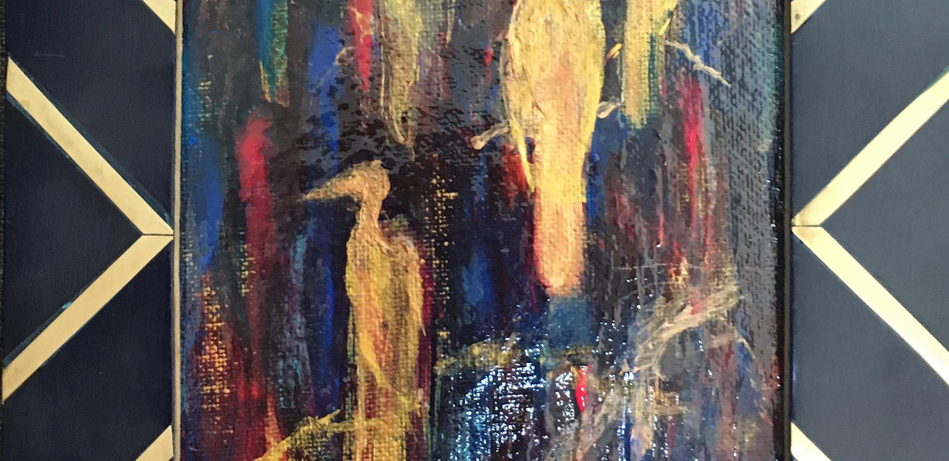 Blue Bayou Birds by Rayna Coller