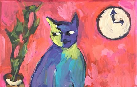 Three O'Clock Cat by Susan Kendall