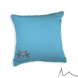 041 Cute Cat Pillow Case