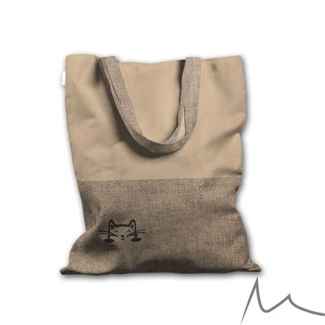 041-1 Cute Cat Tote Bag