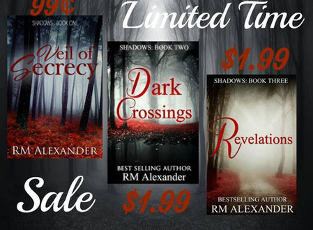 Shadows Series discounted for this weekend only!