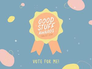 aPurla is a finalist in the Frankie Good Stuff Awards
