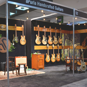 From Melbourne Guitar Show to Metamorphosis