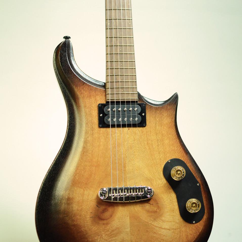 Tobacco Smoke Guitar front