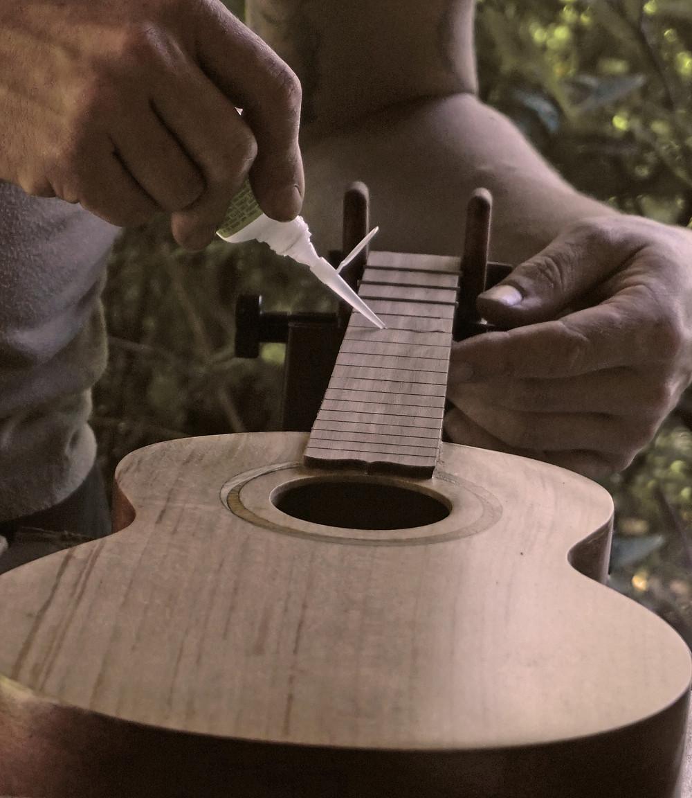 Making a uke