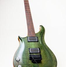Dark Green Silk