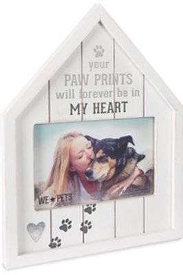 Paw Prints Frame