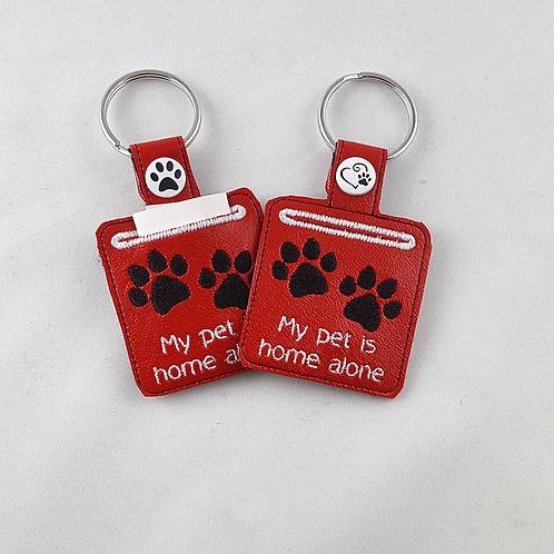 My Pet is Alone Key Fob