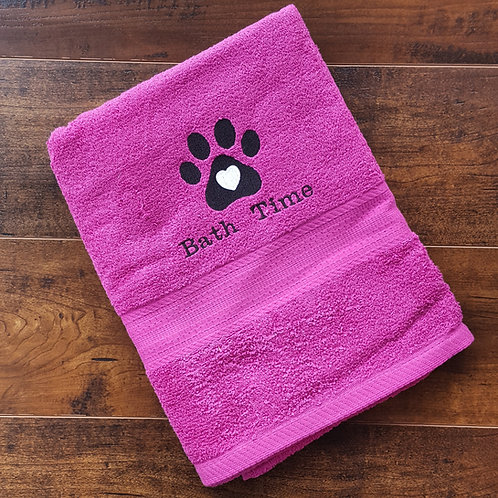 Bath Time Towel
