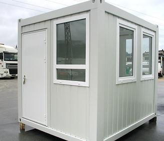 Pfoertnerhaus Bau Loge Sicherheit