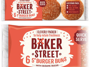 "New 5"" Burger Buns Catering Pack: Fresh Taste, Longer Life"