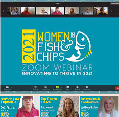 Women in Fish and Chip Keeps Shops Connected and Inspired During Lockdown