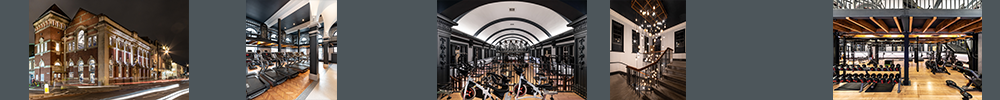 LUXE Fitness Boutique Gym -  Heritage | Commercial | Wellbeing | Interior Design
