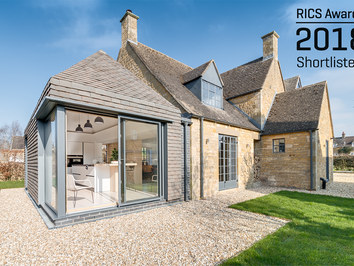 The Arts & Crafts House and The Miner's Cottages, Shortlisted for the RICS Regional Awards