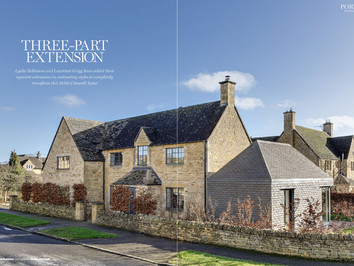 Arts & Crafts House | Three-Part Extension | HBR June 2018