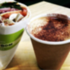 Coffee at The Green Room Salad Bars