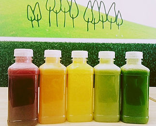 Juices and Smoothies at The Green Room Salad Bars