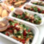 Fresh Salads at The Green Room Salad Bars