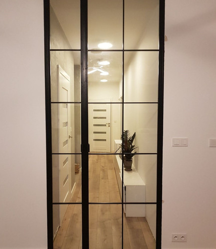 Internal Crittall Style Double french doors