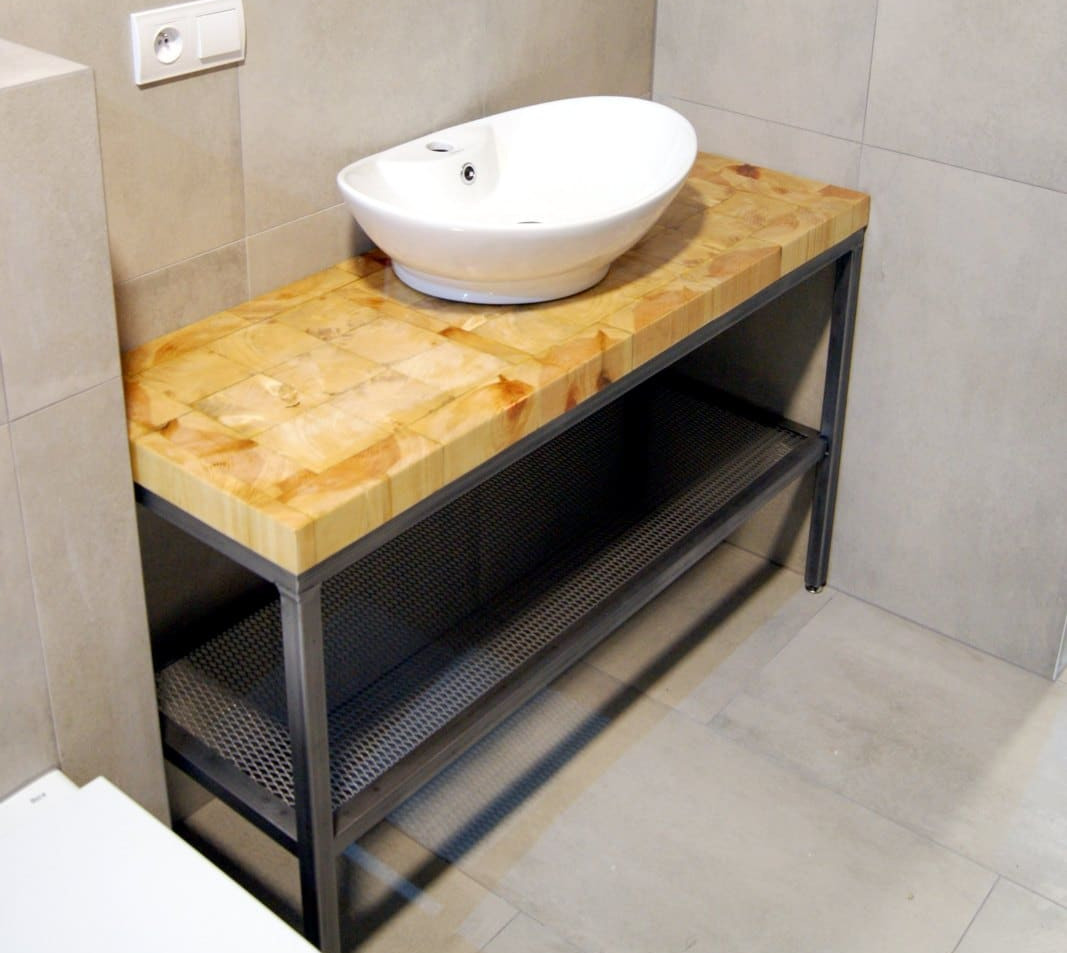 Steel Bathroom Unit