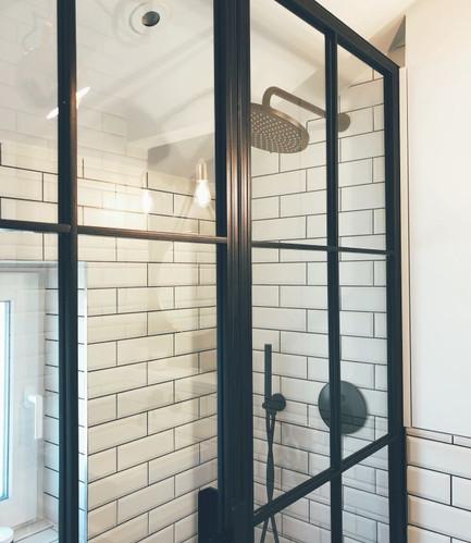 Crittall style shower doors