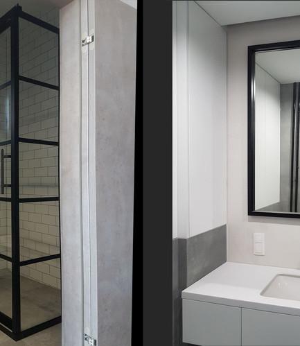 Crittall Showerscreen