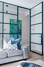 Internal Single French door with Screen