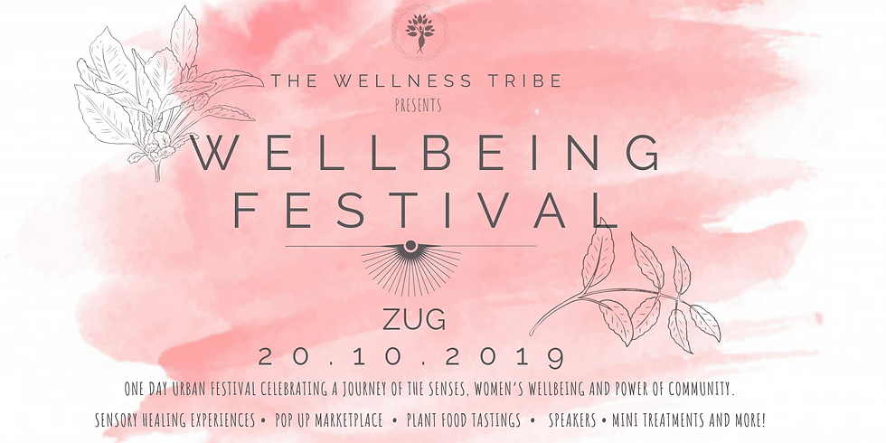 Wellbeing Festival 2019 Switzerland - book your ticket today!