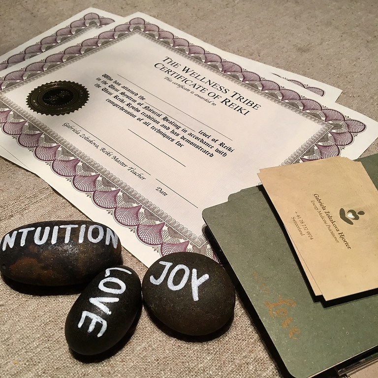 REIKI Level 1 - Certification Courses in Zug