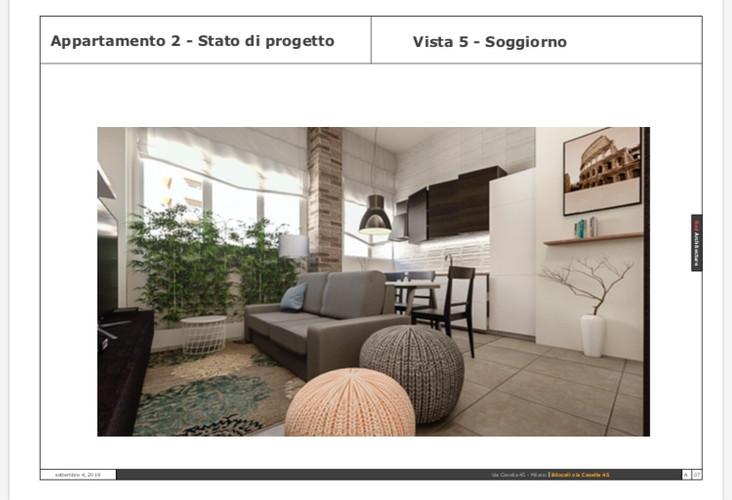 Soggiorno(3)/Via Casella 45