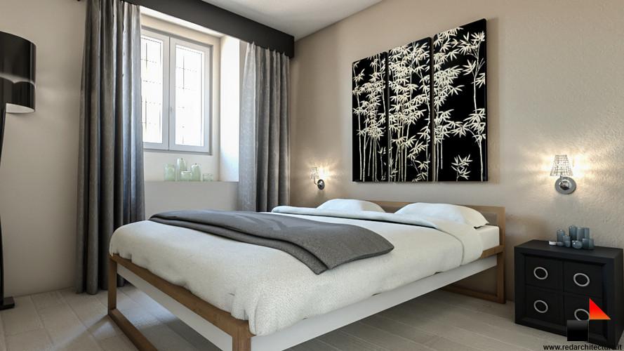 Camera da letto/Via della Bindellina 6