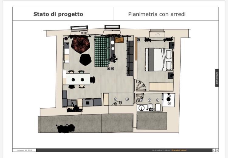 Planimetria - Arredi