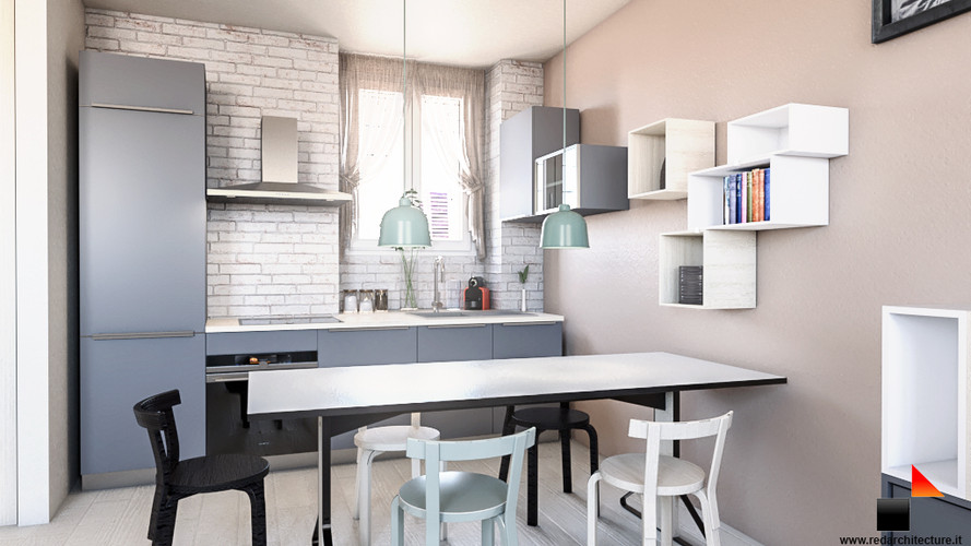 Cucina/Via della Bindellina 6