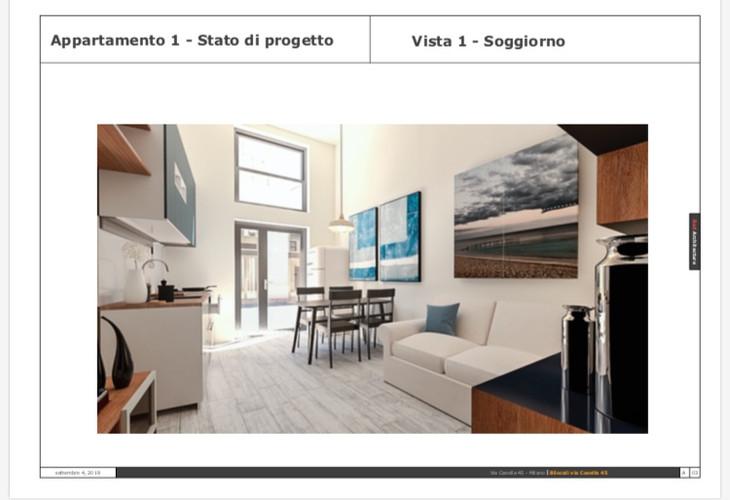 Soggiorno/Via Casella 45