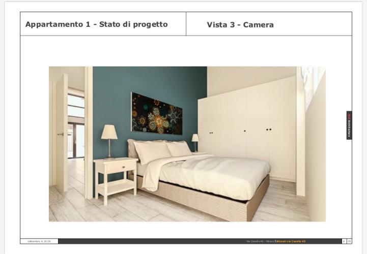 Camera da letto/Via Casella 45