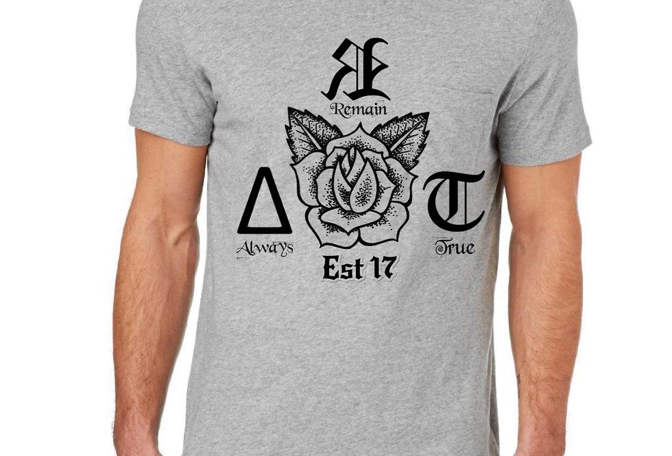 ∆ЯT= ∆lways Яemain True Grey Unisex T-Shirt