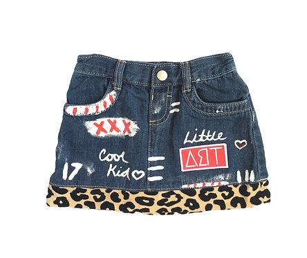 custom girls skirt