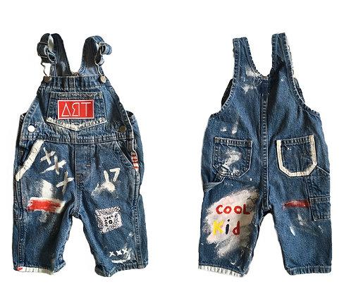 custom ∆ЯT overalls