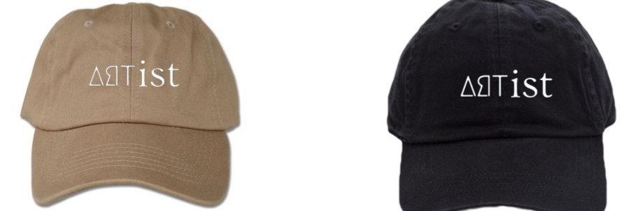 ∆ЯTIST Dad Hats