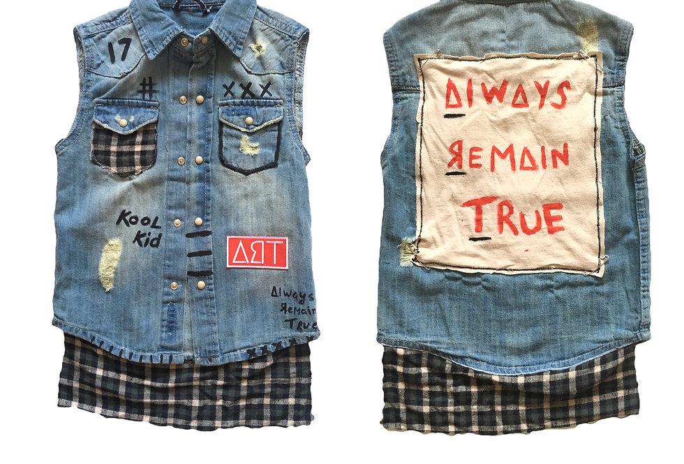 jean custom kids vest