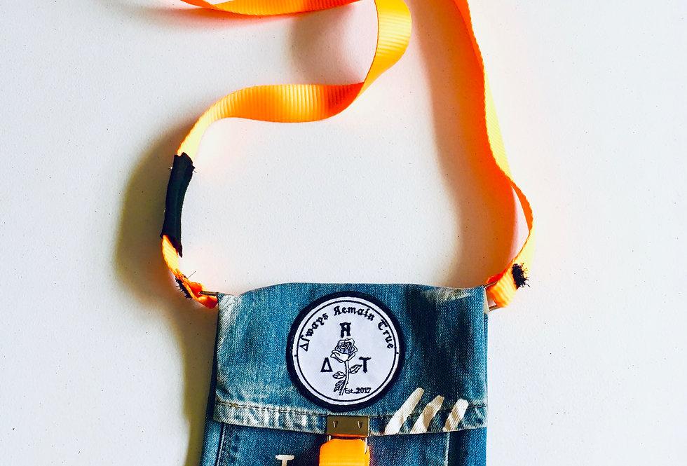 unisex Jean Shoulder bag