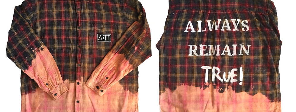 Mens Bleached Button up